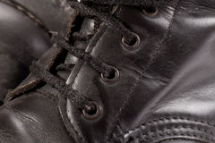 Dirty old shoe Stock Photography