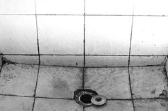 Dirty old sink Royalty Free Stock Photography
