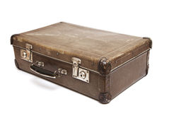 Dirty Old Suitcase Royalty Free Stock Image