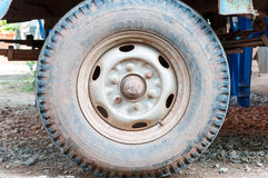 Dirty old tires Royalty Free Stock Photography