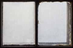 Dirty and old window Royalty Free Stock Image