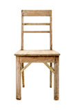 Dirty Old Wooden Chair Royalty Free Stock Photo