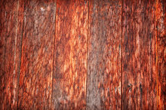 Dirty old wooden red. Royalty Free Stock Photos
