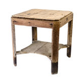 Dirty Old Wooden Table Stock Images