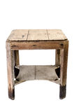 Dirty old wooden table Stock Image