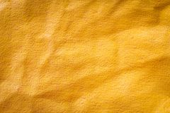 Dirty old yellow plastic sunblind background with dust Royalty Free Stock Photos