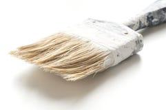 Dirty painted brush Stock Photos