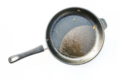 Dirty Pan Royalty Free Stock Image