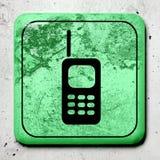 Dirty phone symbol Royalty Free Stock Image