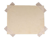 Dirty piece of paper Stock Photography