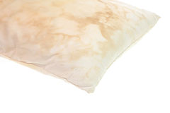 Dirty pillow Royalty Free Stock Photo