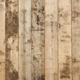 Dirty pine planks on fence in square format Stock Images