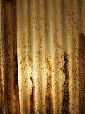 Dirty Plastic.... Opaque corrugated plastic with sun shining through Royalty Free Stock Photos