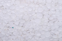 Dirty polystyrene foam Royalty Free Stock Photo
