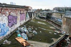 Dirty poverty poorness stock photo