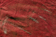 Dirty red rag texture. Stock Images
