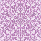 Dirty retro pattern. Dirty abstract scroll shape like butterfly purple toned Stock Photography