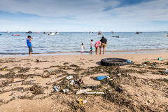 Dirty Rio water a threat at 2016 Olympics Stock Image