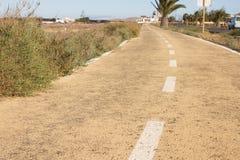 Dirty road. Off road, spring dry grass. Desert, palm, ground, stone way. Dirt road. Off road, spring dry grass. Desert, palm ground stone way Stock Photos