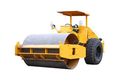 Dirty road roller Royalty Free Stock Photos