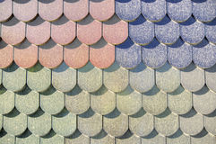Dirty roof tiles Stock Images
