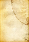 Dirty Rough Old Paper Texture. Scanned in high resolution for extreme detail Royalty Free Stock Images