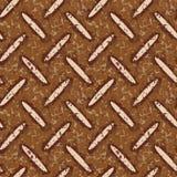 Dirty rusty metal floor plate Royalty Free Stock Image