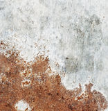 Dirty, rusty metal plate Stock Images