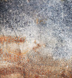 Dirty, rusty metal plate Royalty Free Stock Photo