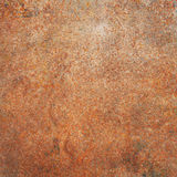 Dirty, rusty metal plate Royalty Free Stock Image