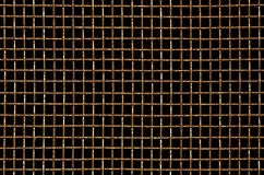 Dirty and rusty mosquito wire mesh Royalty Free Stock Images