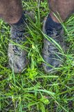 Dirty shoes Royalty Free Stock Photography