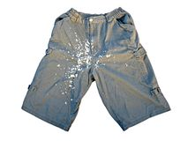 Dirty shorts Stock Photos