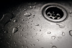 Dirty sink close up Stock Images