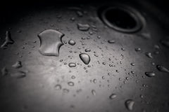 Dirty sink close up Royalty Free Stock Photography