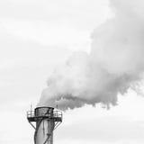 Dirty smoke on the sky Stock Photos