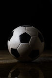 dirty soccer ball Stock Photos