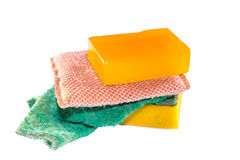 Dirty Sponge Stock Photography