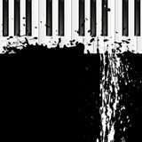 Dirty spot on the piano Royalty Free Stock Photo