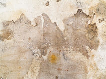 Dirty stains and cracks on the plaster Royalty Free Stock Photos