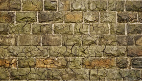 Dirty stone grunge wall with cracks Royalty Free Stock Photos