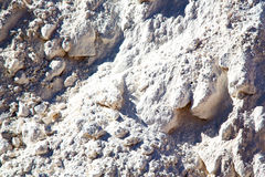 dirty  stone in italy    mineral and texture Stock Images
