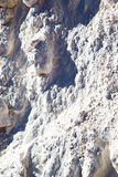 dirty  stone in italy   rock surface  mineral and texture Royalty Free Stock Photography