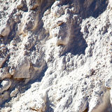 dirty  stone in italy white gray rock surface  mineral and textu Royalty Free Stock Photos