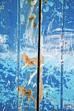 dirty stripped paint  the blue white Royalty Free Stock Photos