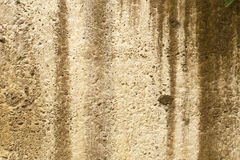 Dirty super-grunge background. Humid concrete wall with cracks Stock Image