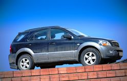 Dirty suv Royalty Free Stock Images