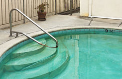 Dirty Swimming Pool Stock Photography