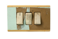 Dirty switches Royalty Free Stock Images