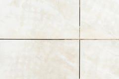 Dirty tile on bathroom floor Stock Images